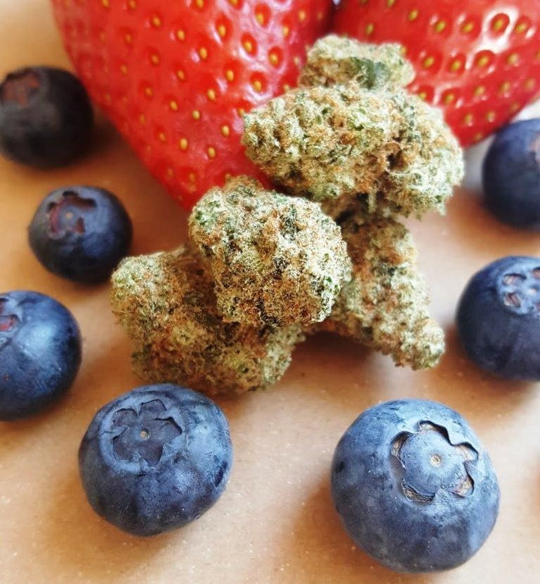 Fruity strains of weed