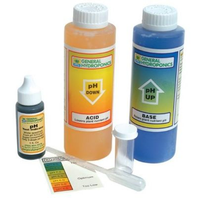 Soil ph for weed
