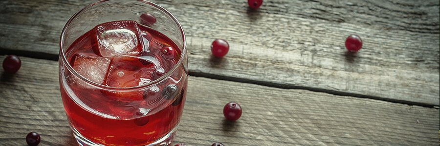 Cranberry juice for weed detox