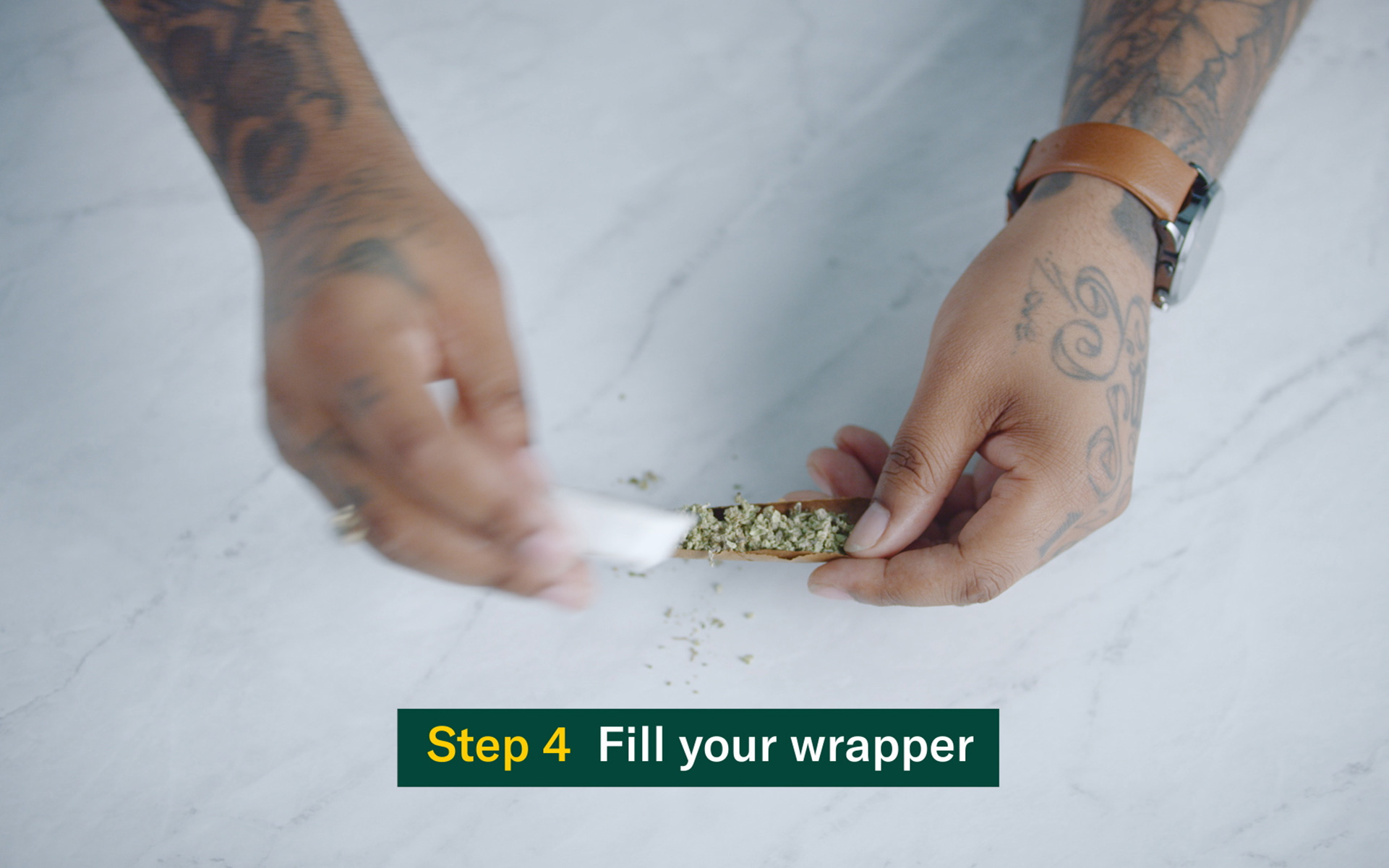 How to roll up a blunt step by step