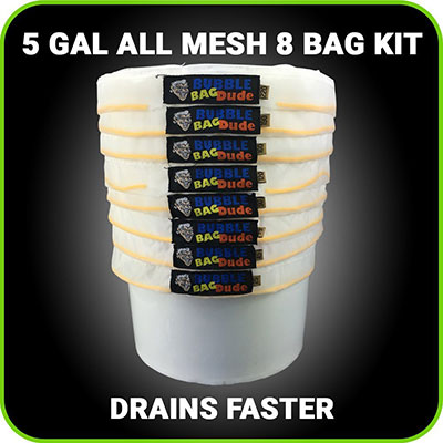 Bubble hash bags order