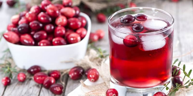 Does cranberry juice help clean your urine