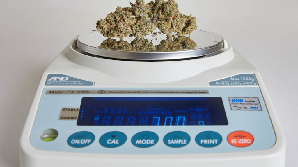 A quad of weed is how many grams